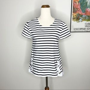 Seed Heritage Striped T-Shirt Top